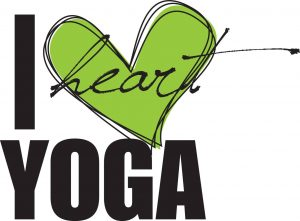 I Heart Yoga logo