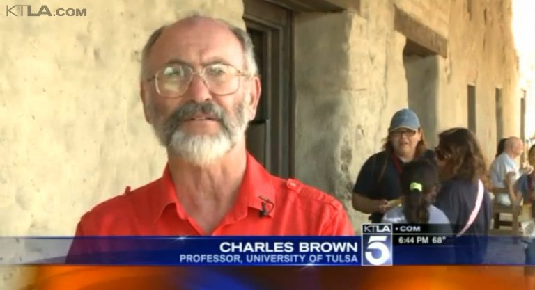 KTLA5 Dr Charles Brown